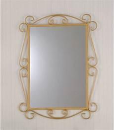 cornici in ferro battuto specchio da parete con cornice in ferro battuto