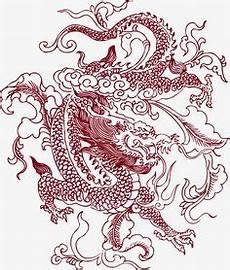 Ausmalbilder Japanische Drachen Vector Of Ancient Pattern Mit Bildern
