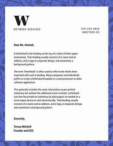 What Are Letterheads Customize 960 Letterhead Templates Online Canva