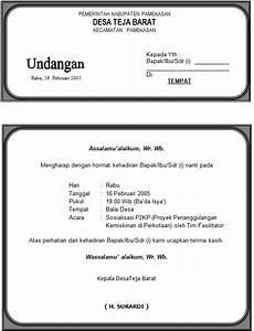 contoh surat undangan acara gathering perusahaan contoh