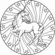 Malvorlagen Mandalas Pferde Unicornios Mandalas Y Zentangles Con Pegasus Para