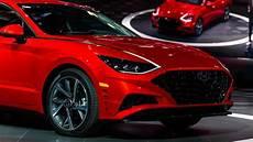 new york auto show 2020 hyundai 2020 hyundai sonata brings arresting style to new york