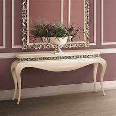 luxury and silver console table