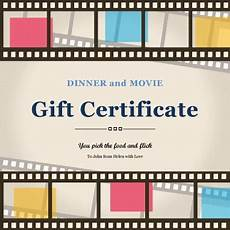 Movie Gift Certificate Template 13 Free Printable Gift Certificate Templates Birthday