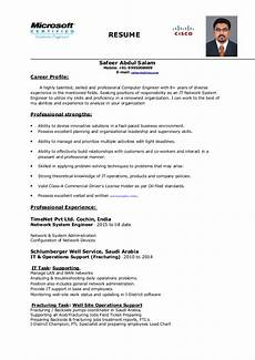 Systems Engineer Resume Network System Engineer Resume