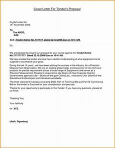 Contoh Appeal Letter 6 Application Letter Of Tender Quote Templates
