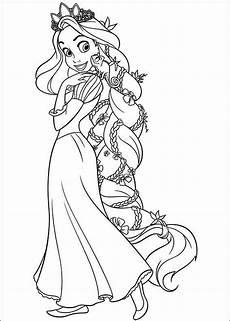 Ausmalbilder Rapunzel Malvorlagen Happy Birthday Ausmalbild Rapunzel Rapunzel Disney Prinzessin