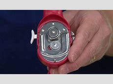 Kuhn Rikon Ultimate Can Opener with Auto Attach Feature on