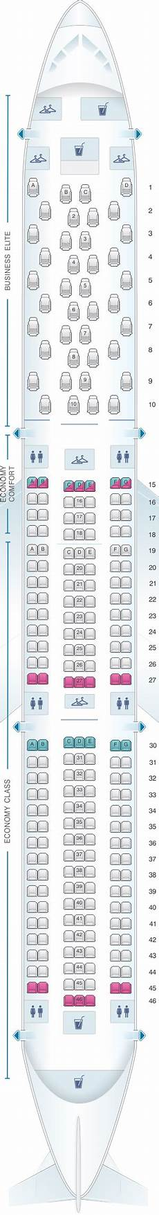 Boeing 767 400 Seating Chart Seat Map Delta Airlines Boeing B767 400er 76d