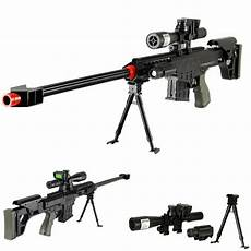 315 fps airsoft sniper rifle gun tactical setup