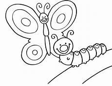 Malvorlage Schmetterling Kinder Raupe Ausmalbilder 1ausmalbilder Raupe