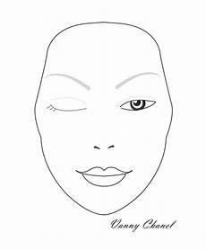 Brown Face Chart Blank Pdf Various Blank Charts Face Charts Pinterest Face