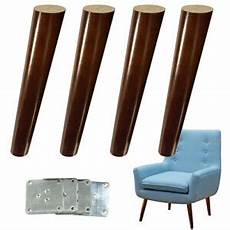 angled furniture sofa legs walnut finished replacement for