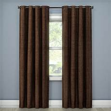 Target Light Filtering Curtains Rowland Light Blocking Curtain Panel Chocolate 52 Quot X84