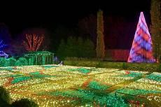 Winter Lights Arboretum Nc Winter Lights Exhibit At The Nc Arboretum S Gardens Open