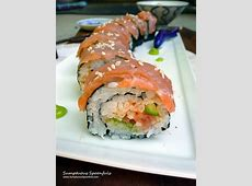 Smoked Salmon Avocado Sushi Roll   Sumptuous Spoonfuls