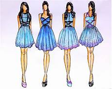 fashion design sketches of dresses 2015 2016