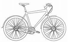 ausmalbilder malvorlagen fahrrad kostenlos zum