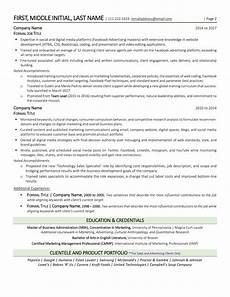 How 2 Make A Resumes Two Page Resume Here S What The Top Hiring Managers