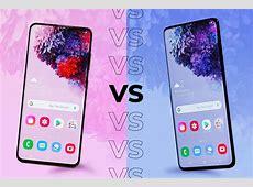 Samsung Galaxy S20 vs Samsung Galaxy S20 Plus: Which is