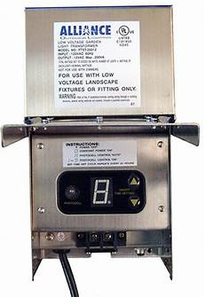 Alliance Lighting Transformer Alliance 200 Watt Stainless Steel Transformer Tf200