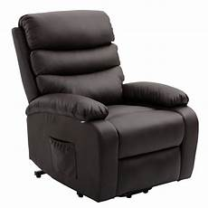 homegear pu leather power lift electric recliner chair w