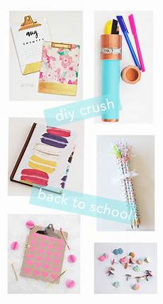 a bubbly diy crush back to school supplies