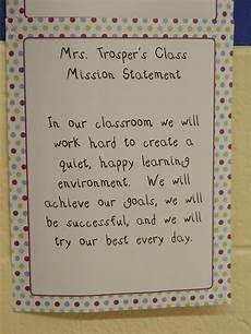 Classroom Mission Statement Third Grade Classroom Mission Statement Classroom