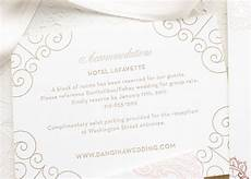 How To Word Hotel Accommodations For Wedding Invitations Insert Card Wording Samples The Wedding Stationery Guide