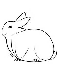 ausmalbilder kostenlos ausdrucken kaninchen x13 ein bild