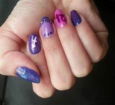 21st Birthday Nail Designs Squarebulb Nail Designs Birthday Nails
