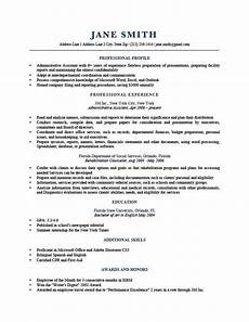 Professional Profile Examples Resume How To Write A Resume Profile Examples Amp Writing Guide Rg