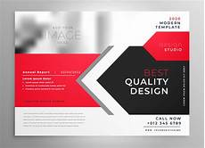 Flyer Designer Free Creative Business Flyer In Red Black Design Download