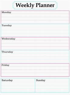 Planning Calendar Template 2015 11 One Week Planner For Employees Sampletemplatess
