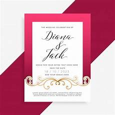 Invitation Front Page Design Invitation Vectors Photos And Psd Files Free Download