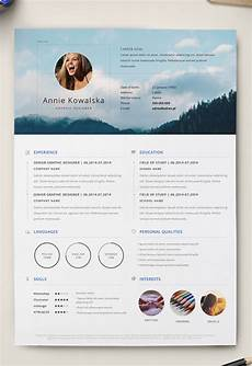 How To Design Resume 7 Free Editable Minimalist Resume Cv In Adobe Illustrator