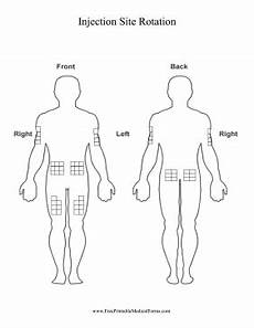 Blank Body Chart Use This Printable Chart Of The Human Body To Track