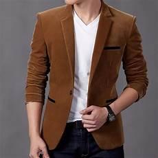 coats and blazers for mens blazers 2016 corduroy single button unique mens