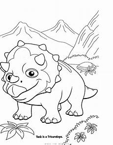 Dinasor Coloring Colormecrazy Org Dinosaur Train Coloring Pages