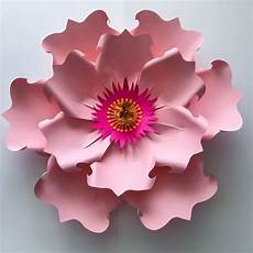 Paper Flower Petal Templates Paper Flowers Svg Petal 71 Paper Flower Petal Template