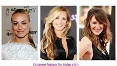 frisuren für frauen mit niedriger stirn frisuren frauen f 252 r hohe stirn