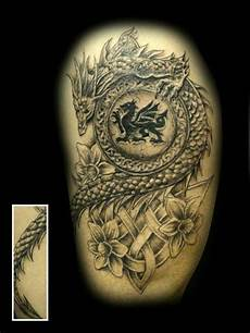 Welsh Celtic Designs Welsh Dragon Welsh Celtic Tattoos For Men