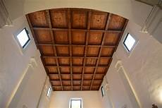 soffitto cassettoni la chiesa s angelo custode julianellum