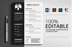 Best Designed Resume Cv Resume Corporate Design Templates