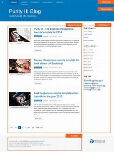 Blog Layouts Layout In Details Of Purity Iii Joomla Template Joomla