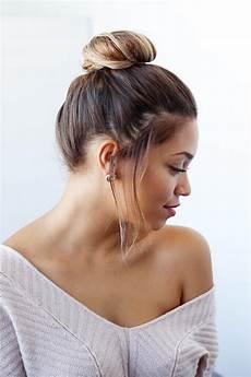 easy bun for shorter hair luxy hair