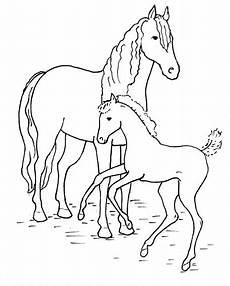 coloring pages malvorlagen pferde ausmalbilder