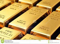 Gold Ingots Royalty Free Stock Images   Image: 33949769
