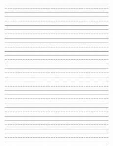 Printable Lined Paper For Kindergarten Free Printable Lined Paper Handwriting Paper Template