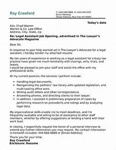 Cover Letter Example For Assistant Assistant Cover Letter Sample